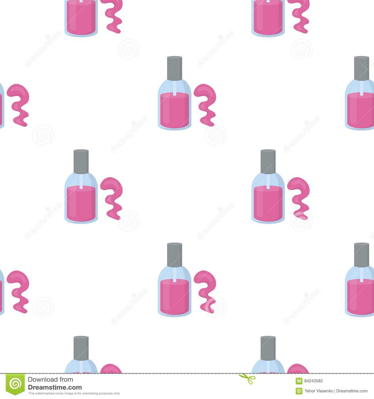 How To Draw A Cartoon Nail Polish Bottle | Hession Hairdressing