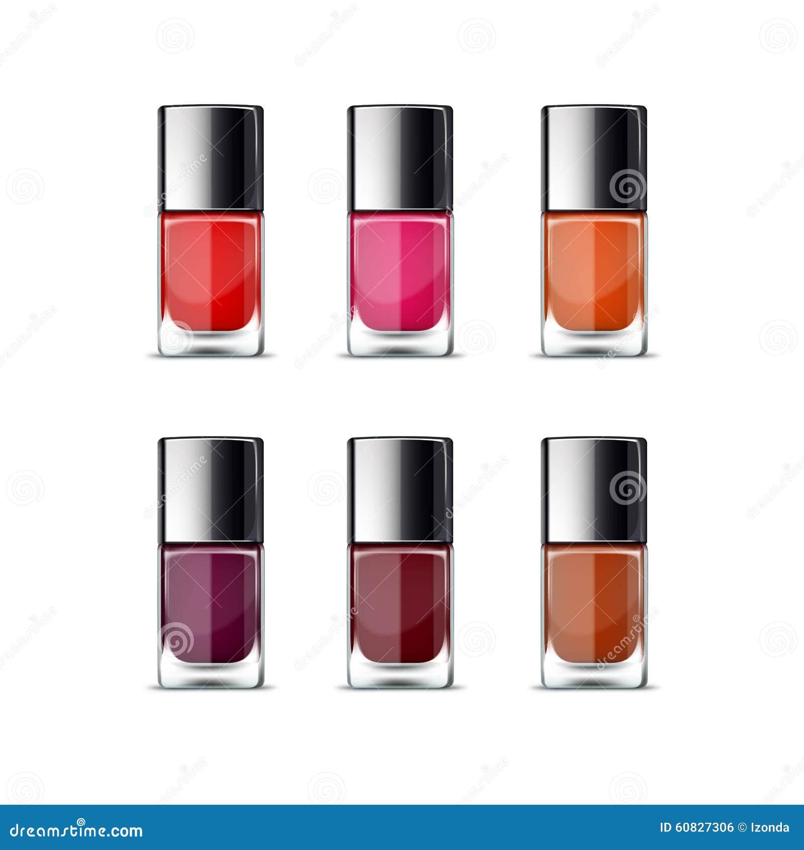Nail Polish Package: Nail Polish Packaging Package Bottle For Manicure