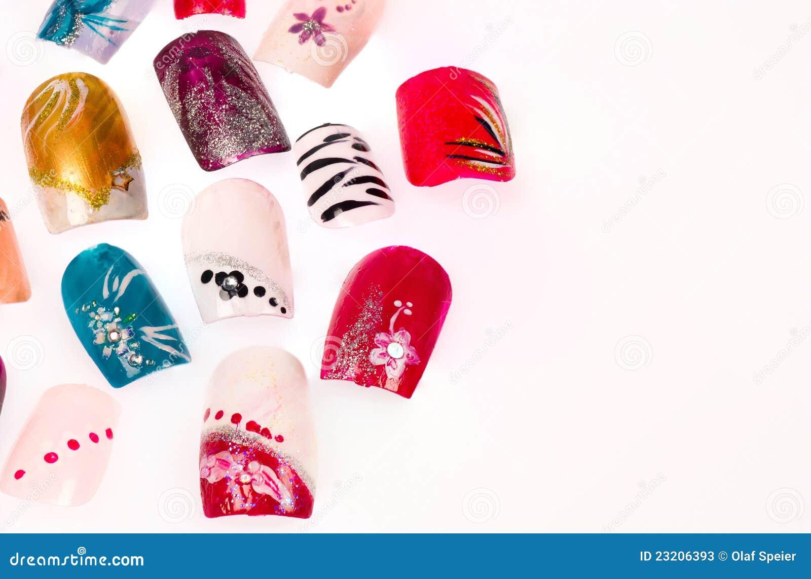 Искусственные ногти дизайн каталоги