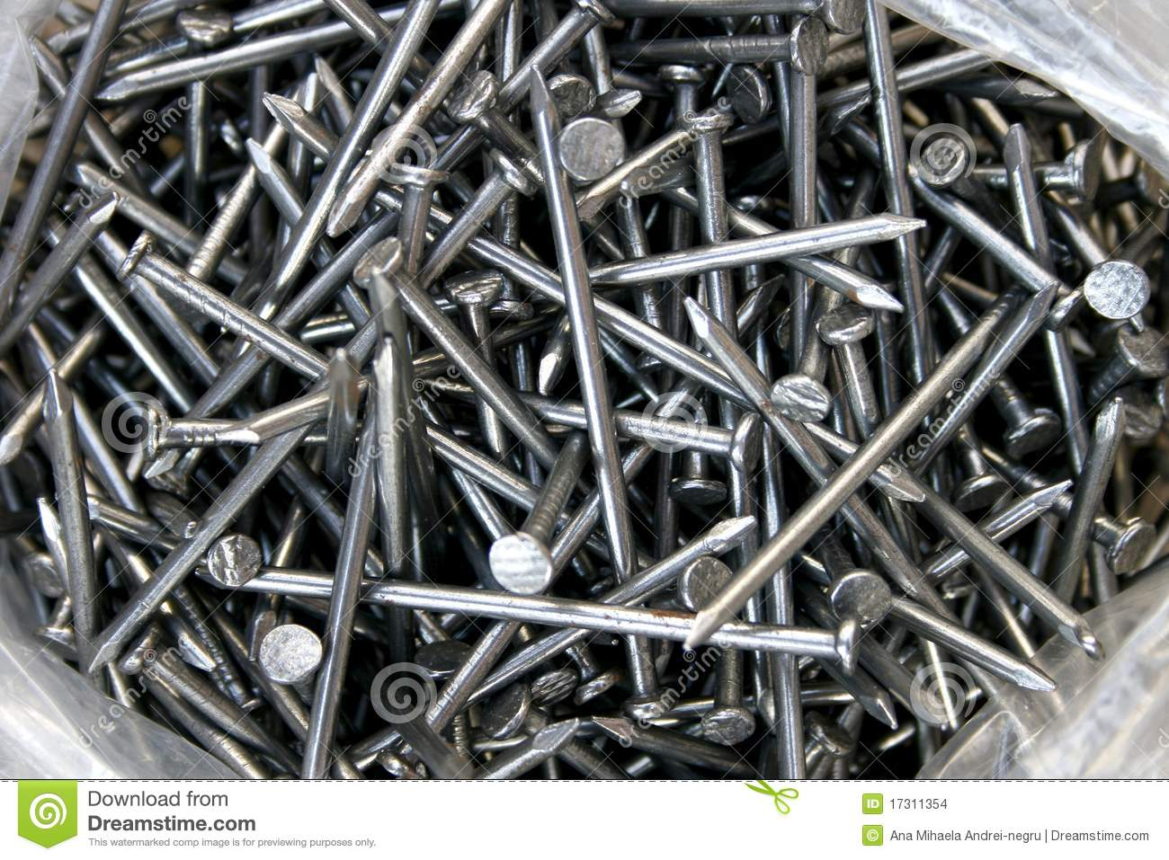 Nails For Carpentry Stock Images Image 17311354