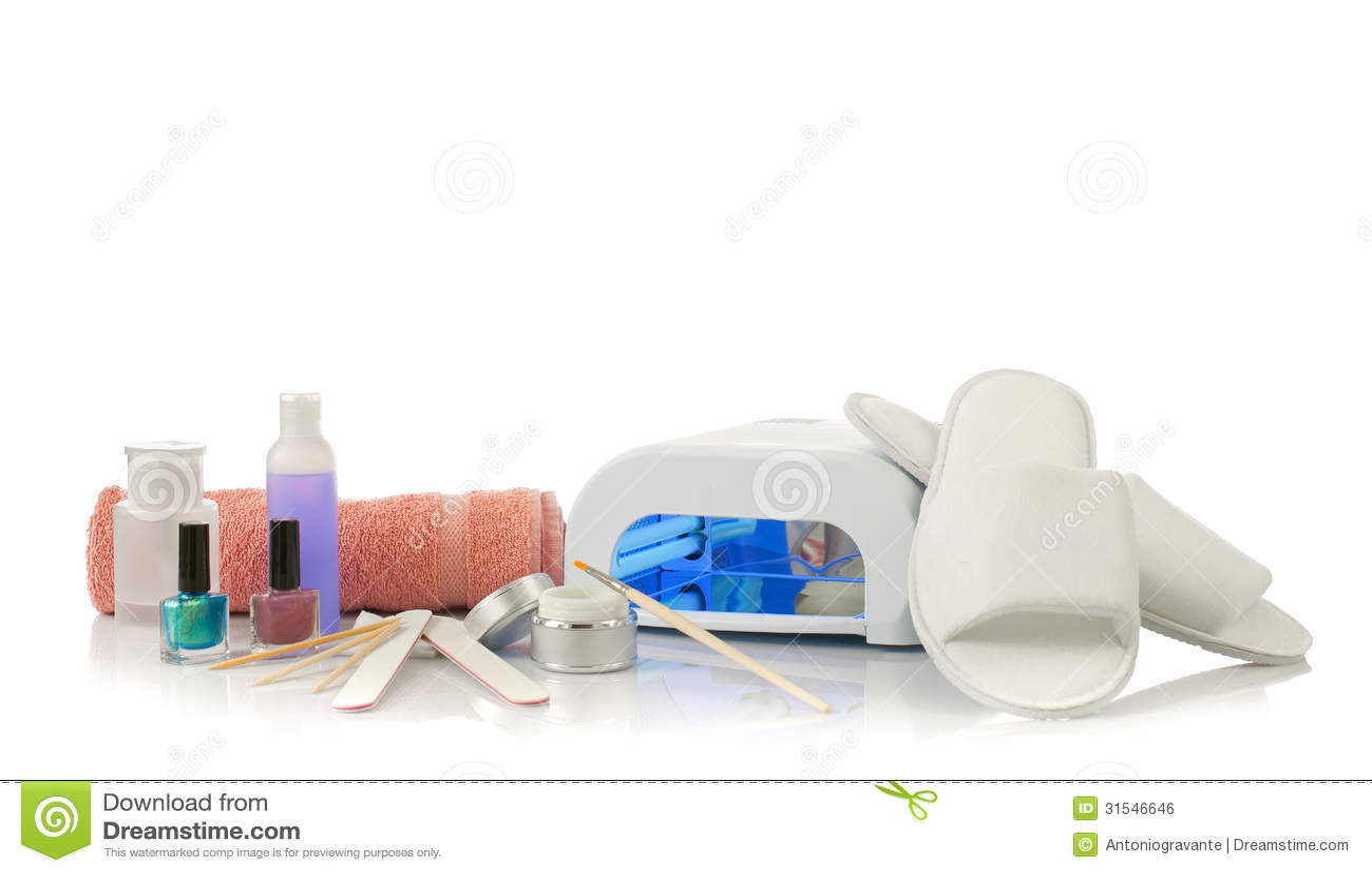 Nails spa royalty free stock image image 31546646 for Nail salon equipment