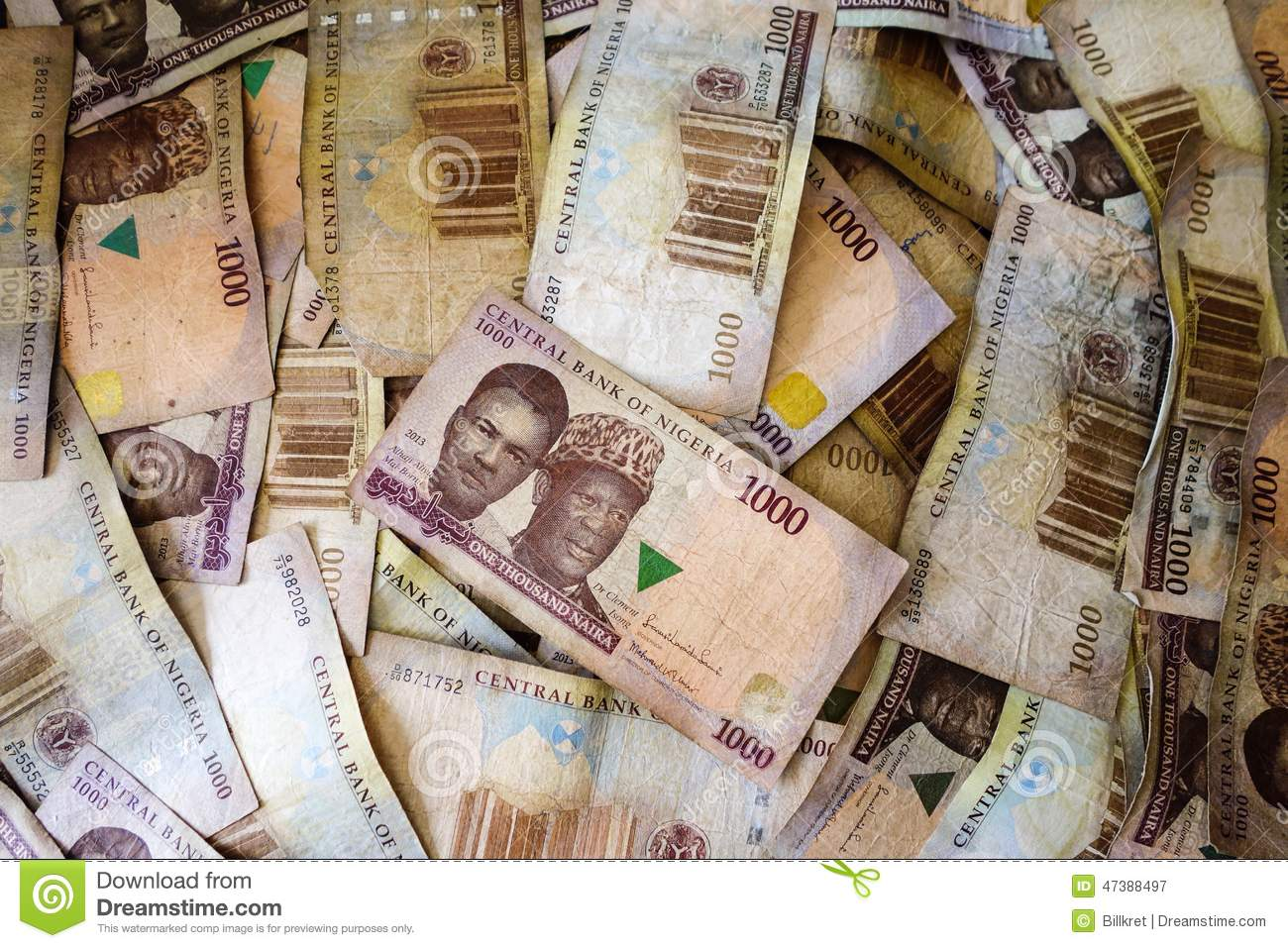 Naira Money From Nigeria Editorial Photography Image Of