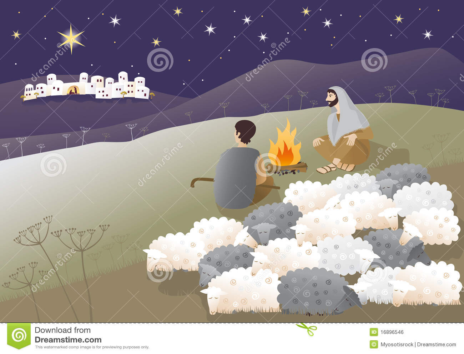 Naissance de Jésus à Bethlehem