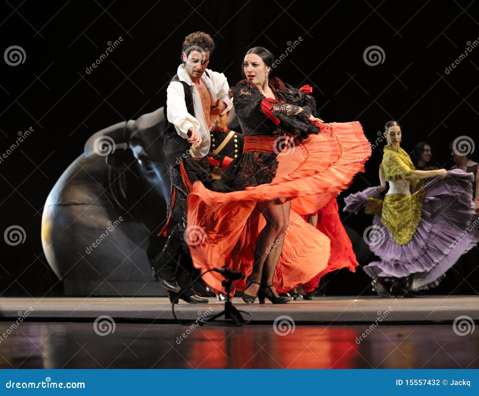 Najlepszi carmen tanczą dramata flamenco