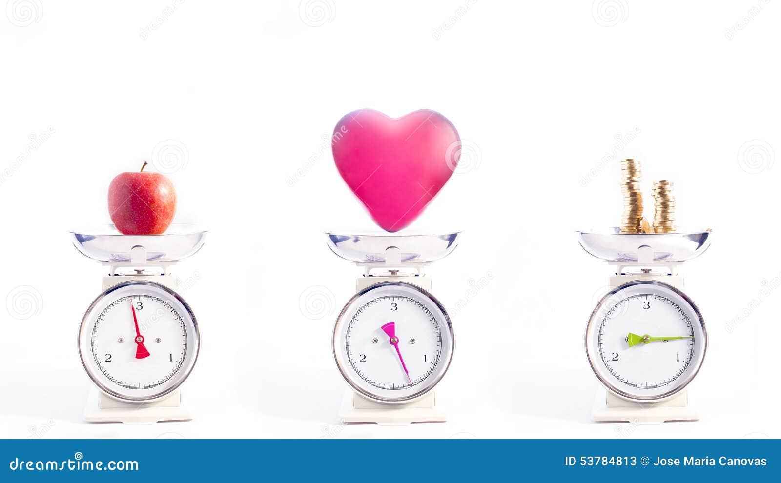Najwięcej ważnych rzeczy w życiu: zdrowie, miłość i pieniądze,