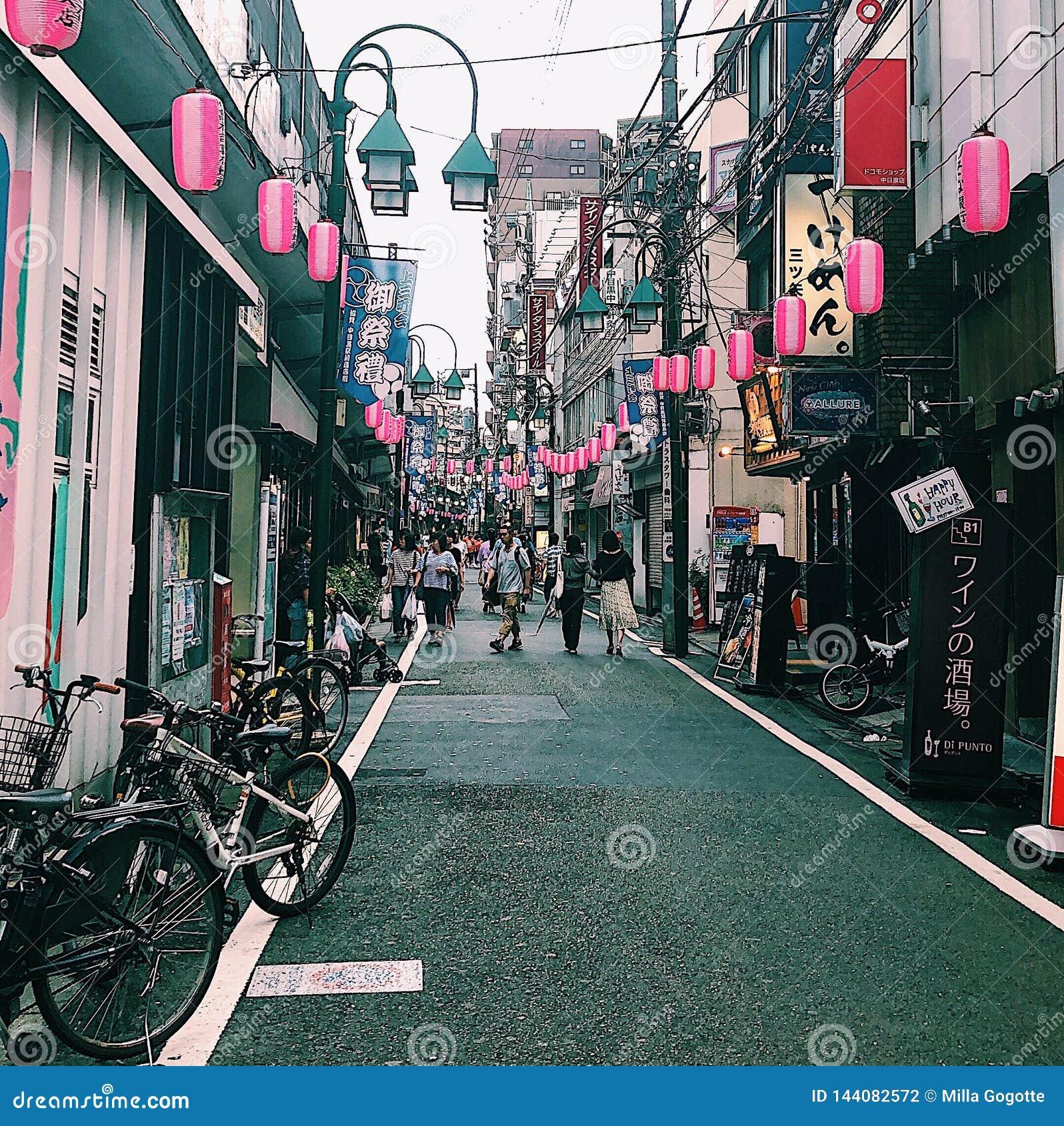 Nakameguro, Токио, Япония