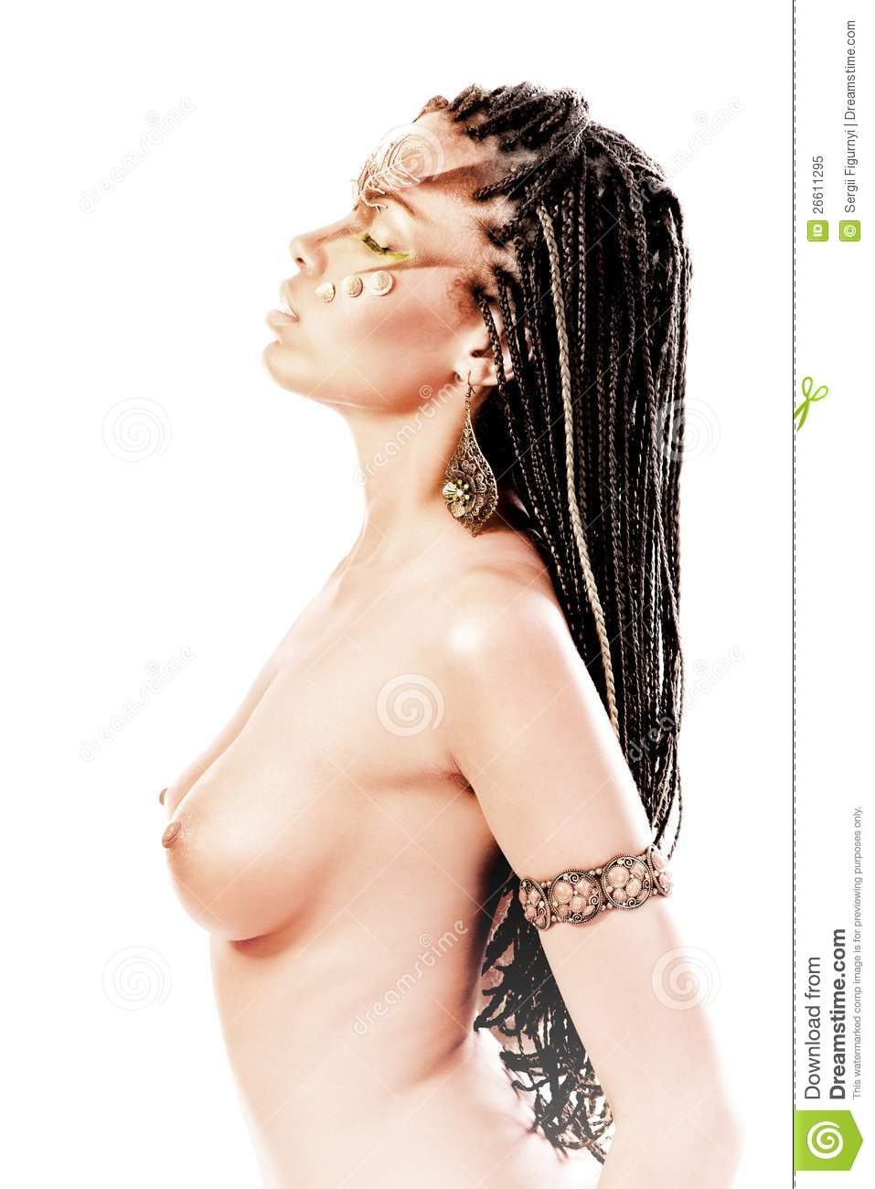 black women dreadlocks nude