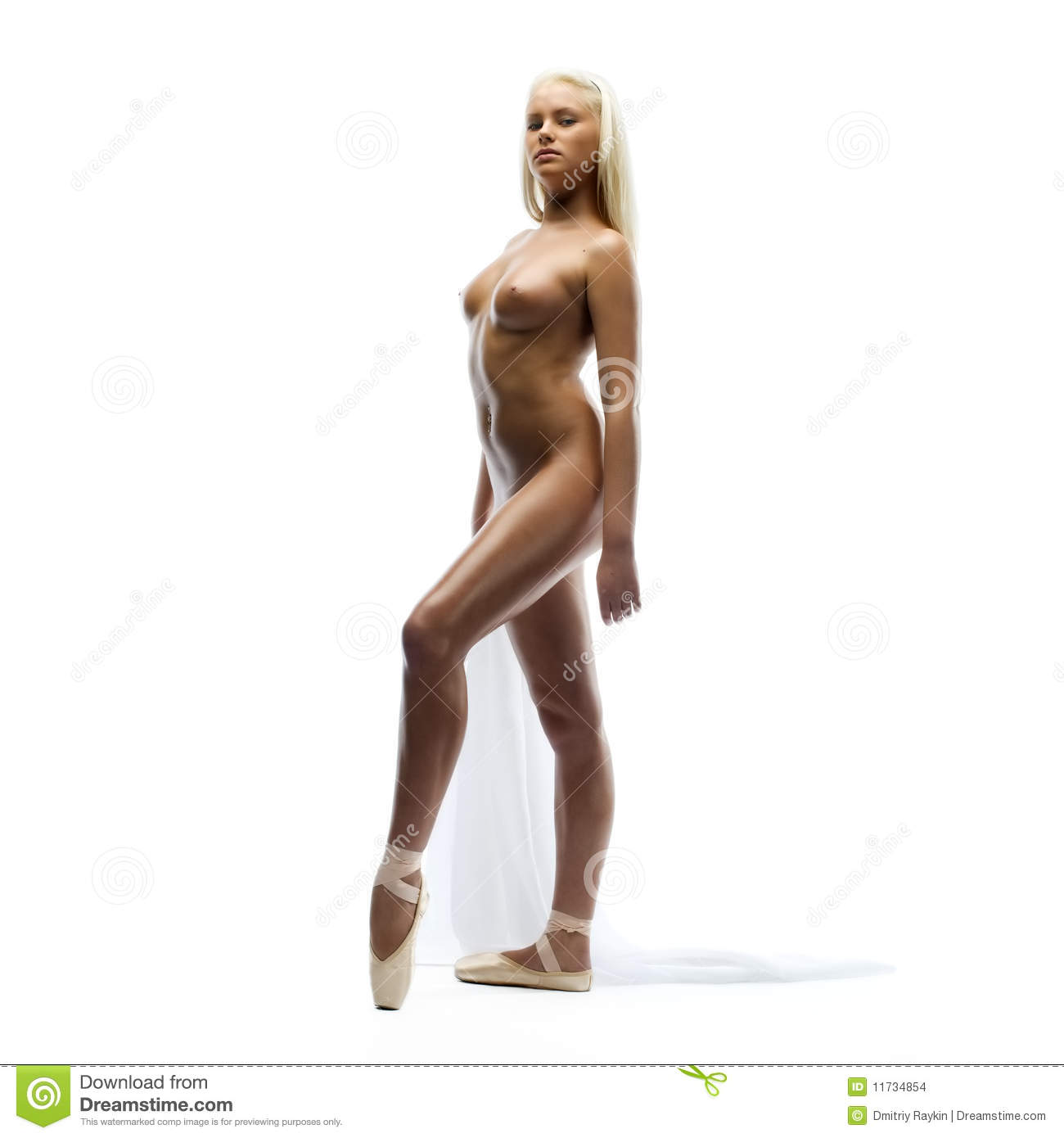 Naked Ballerina Stock Images - Image: 11734854