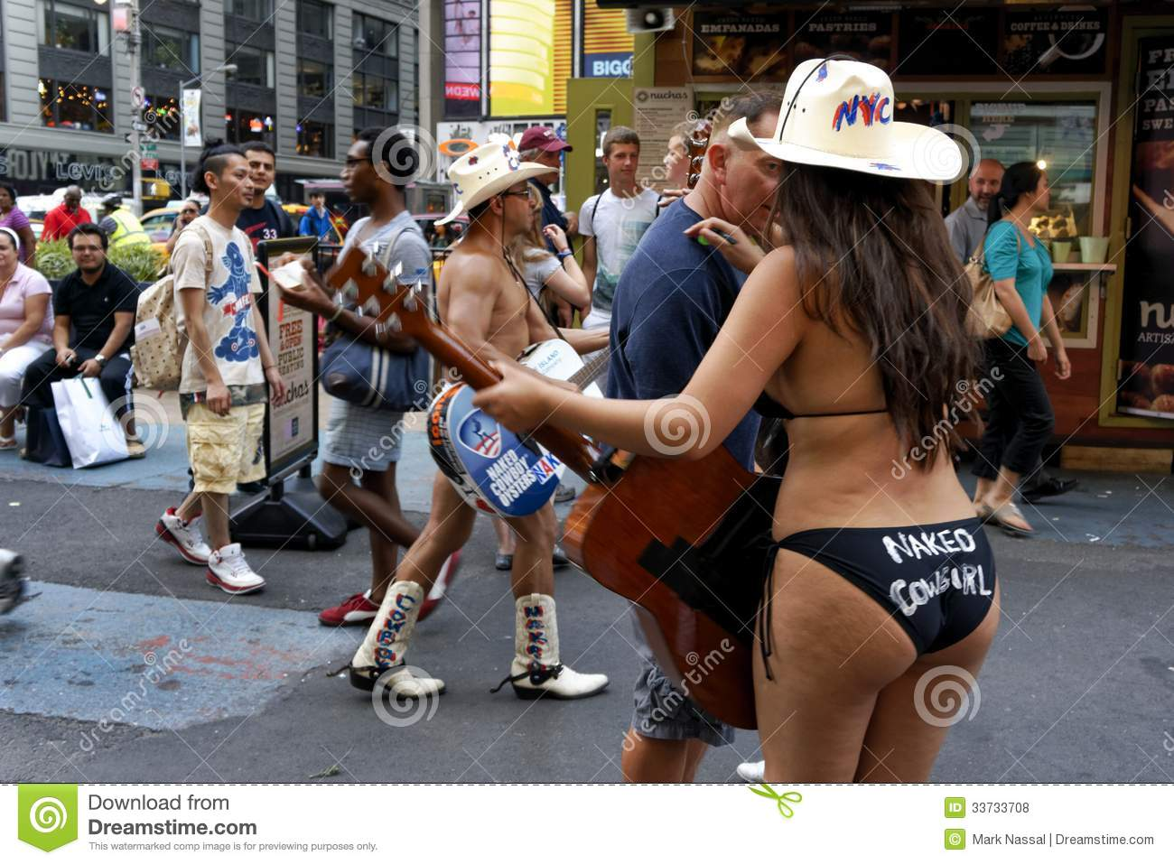 Naked cowgirl in new york city — 11