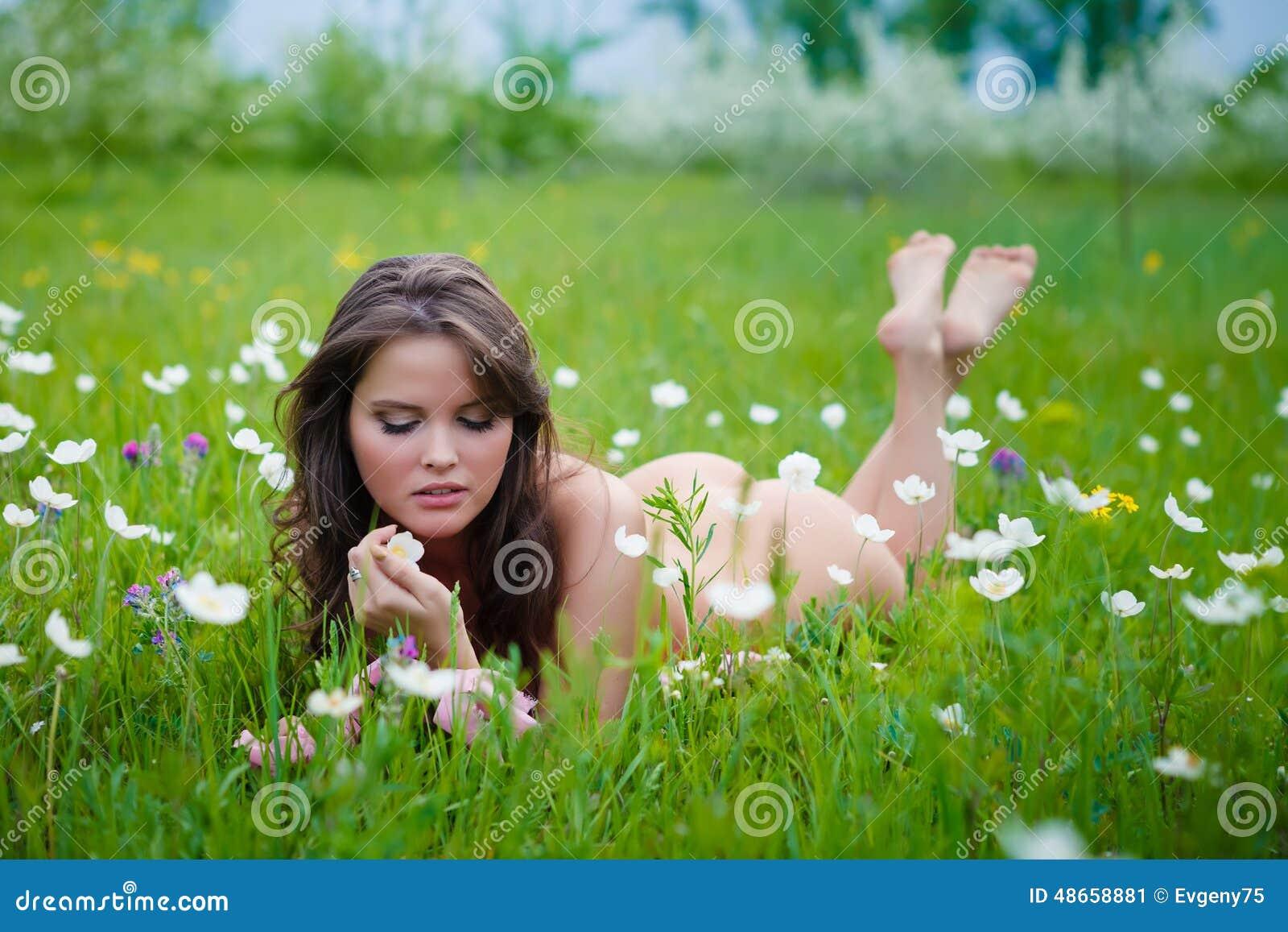Naked girl being kinky