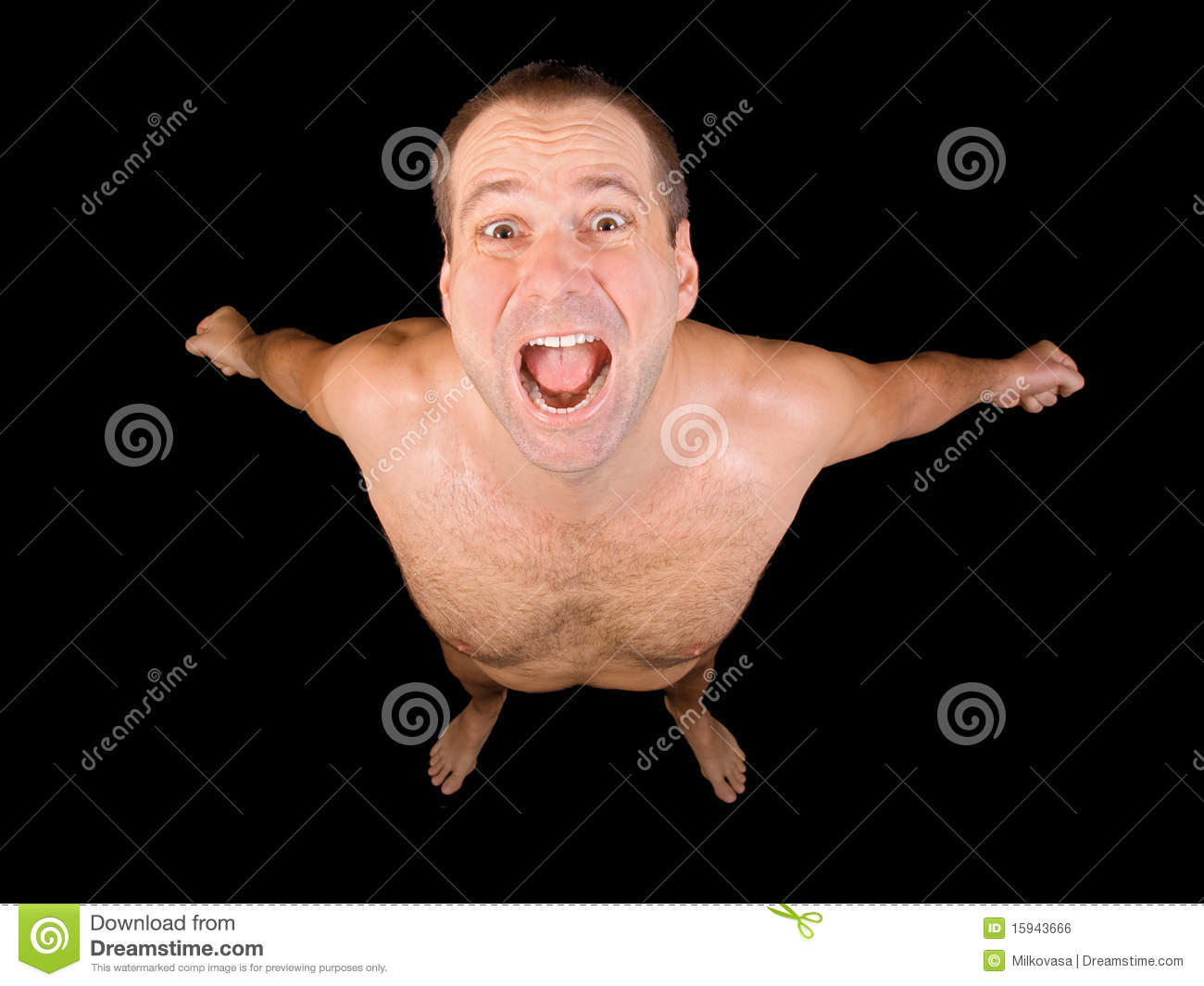 Naked Man Royalty Free Stock Image