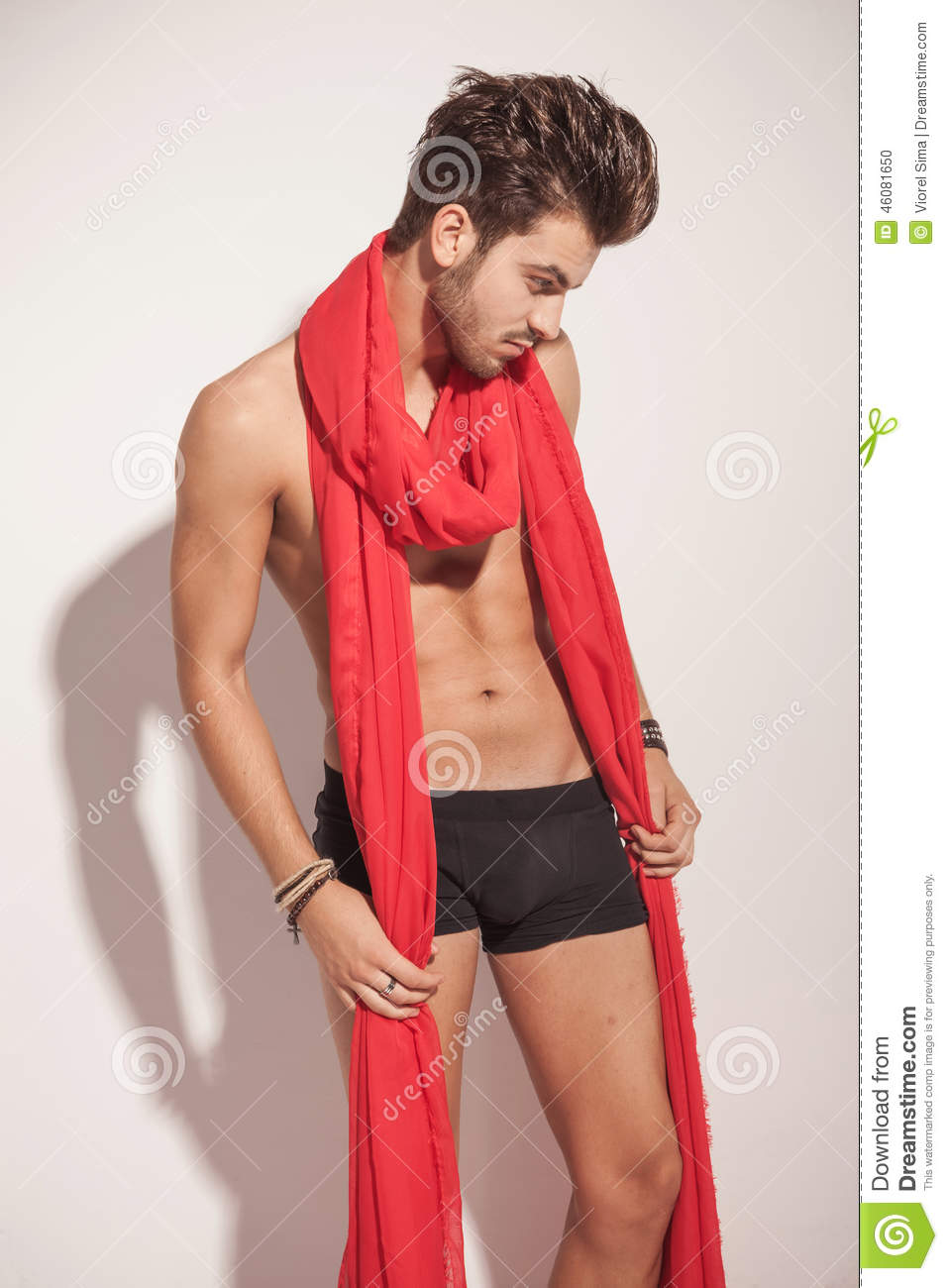 Naked scarf