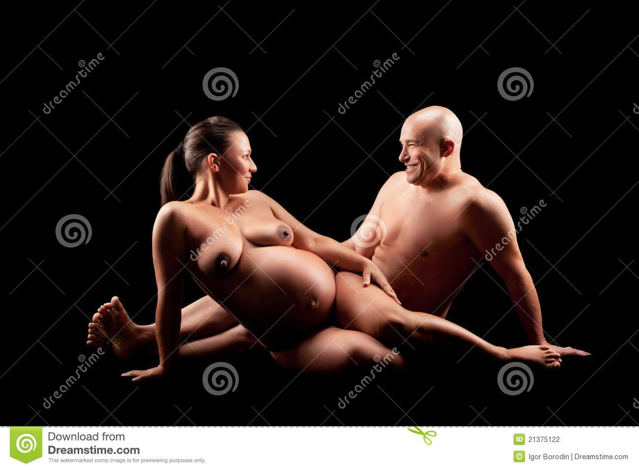 Your place nude of husband pregnant wife