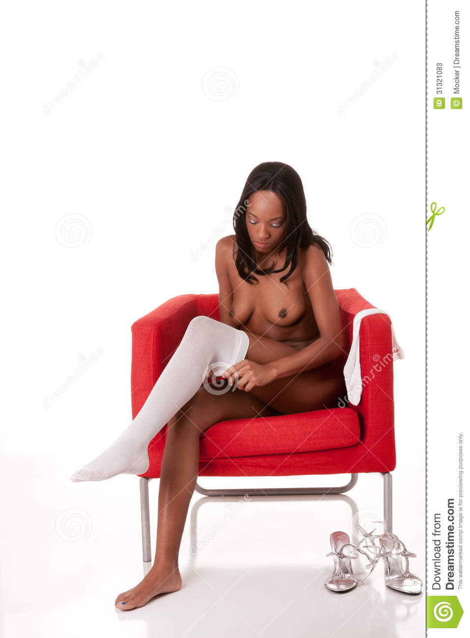 Beautiful nude slim slender black Afro-American female stripper ...: www.dreamstime.com/stock-photos-naked-stripper-woman-ethnic-african...