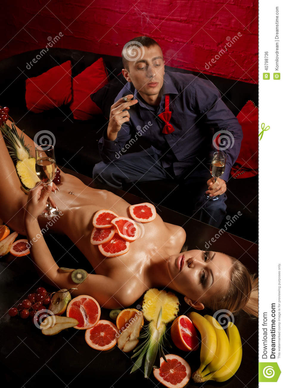 Speaking. Women naked in fruits the