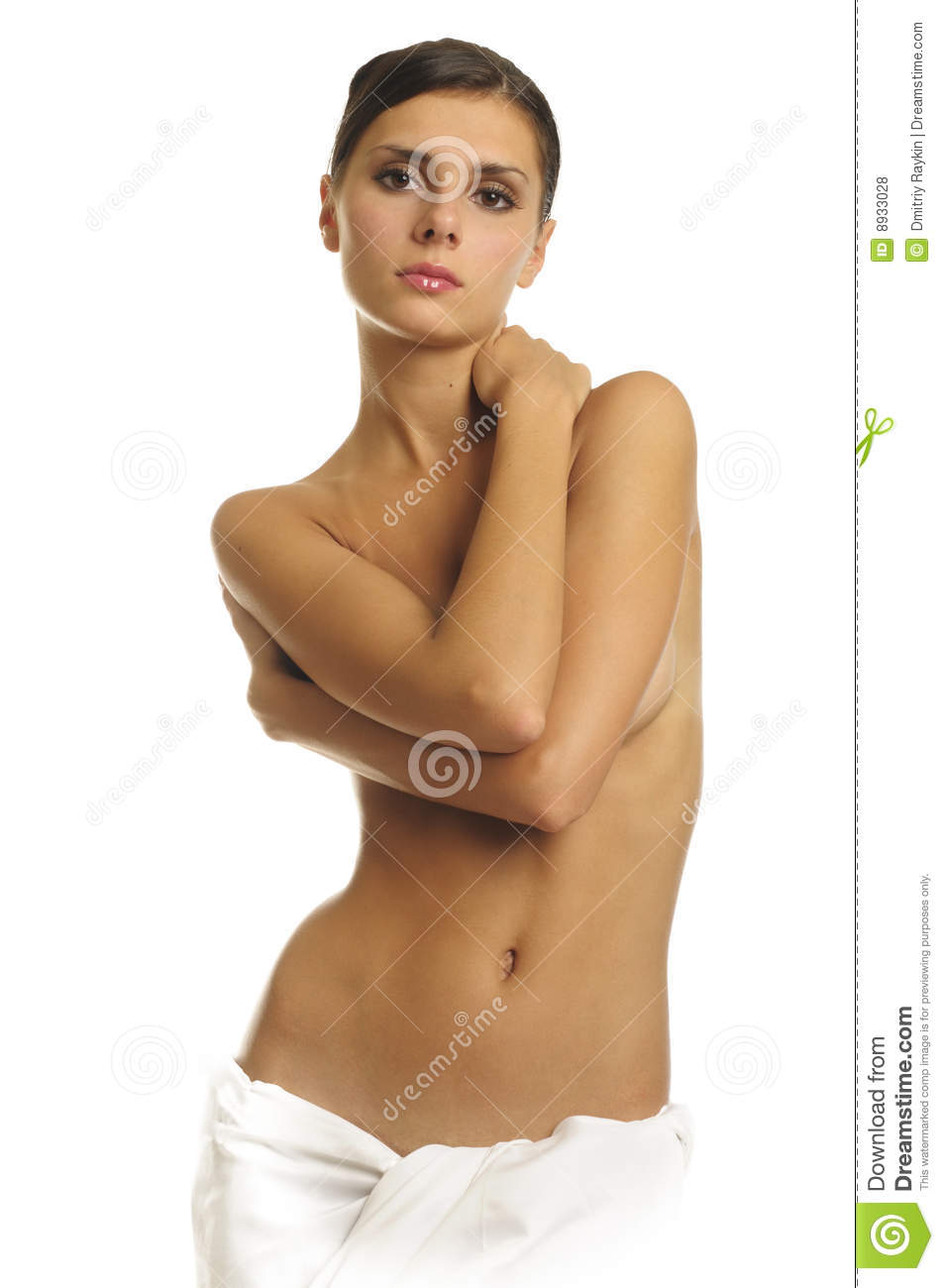 Naked Woman In Towel Royalty Free Stock Photos - Image: 8933028