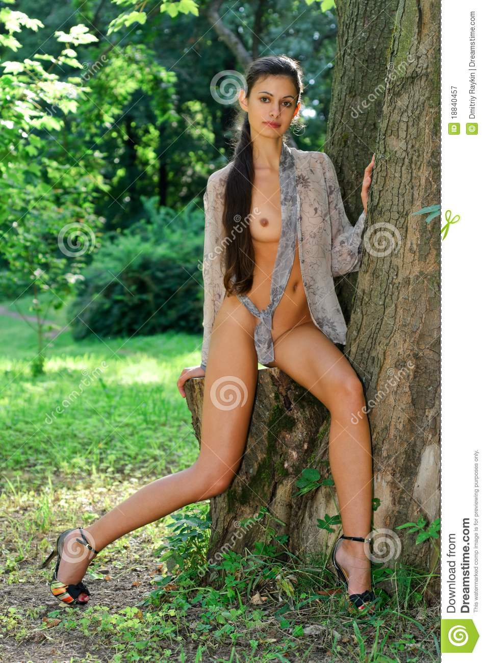 Nude women in the forest nude clips