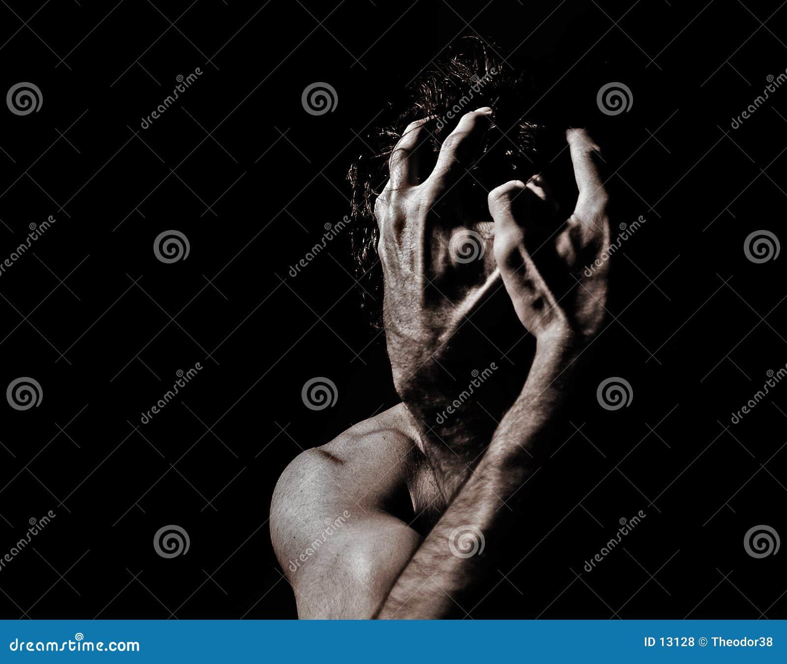 Download Nakenstudie för 5 manlig arkivfoto. Bild av barbacka, erotiskt - 13128