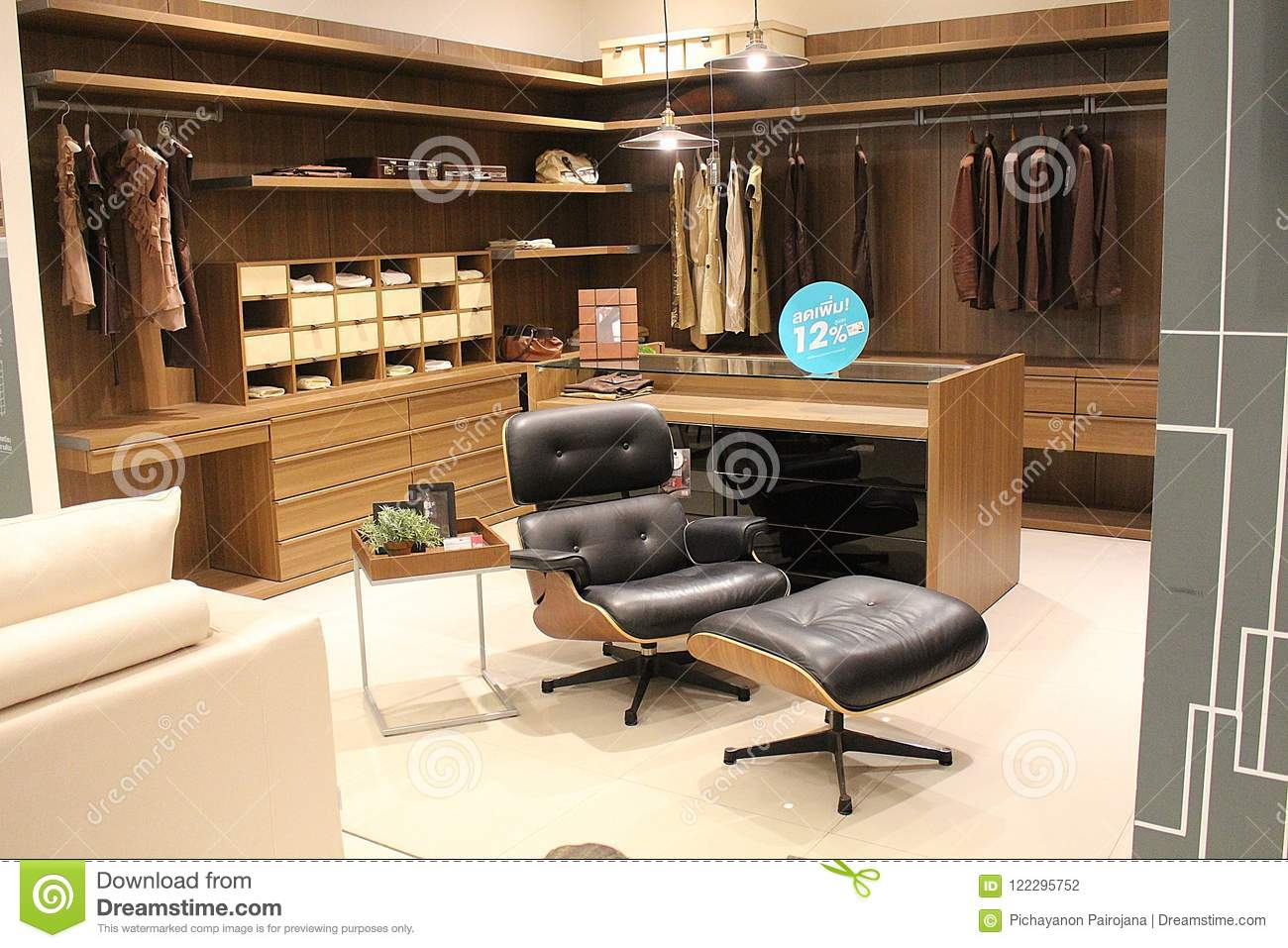 Nakhonratchasima thailand july 11 2018 furniture goods be modern design show these for sell at the mall korat in nakhonratchasima province thailand