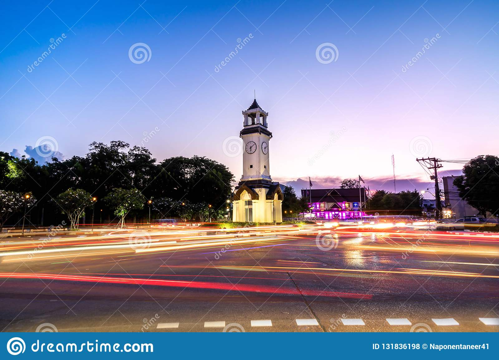 Nakorn Lampang Clock Tower