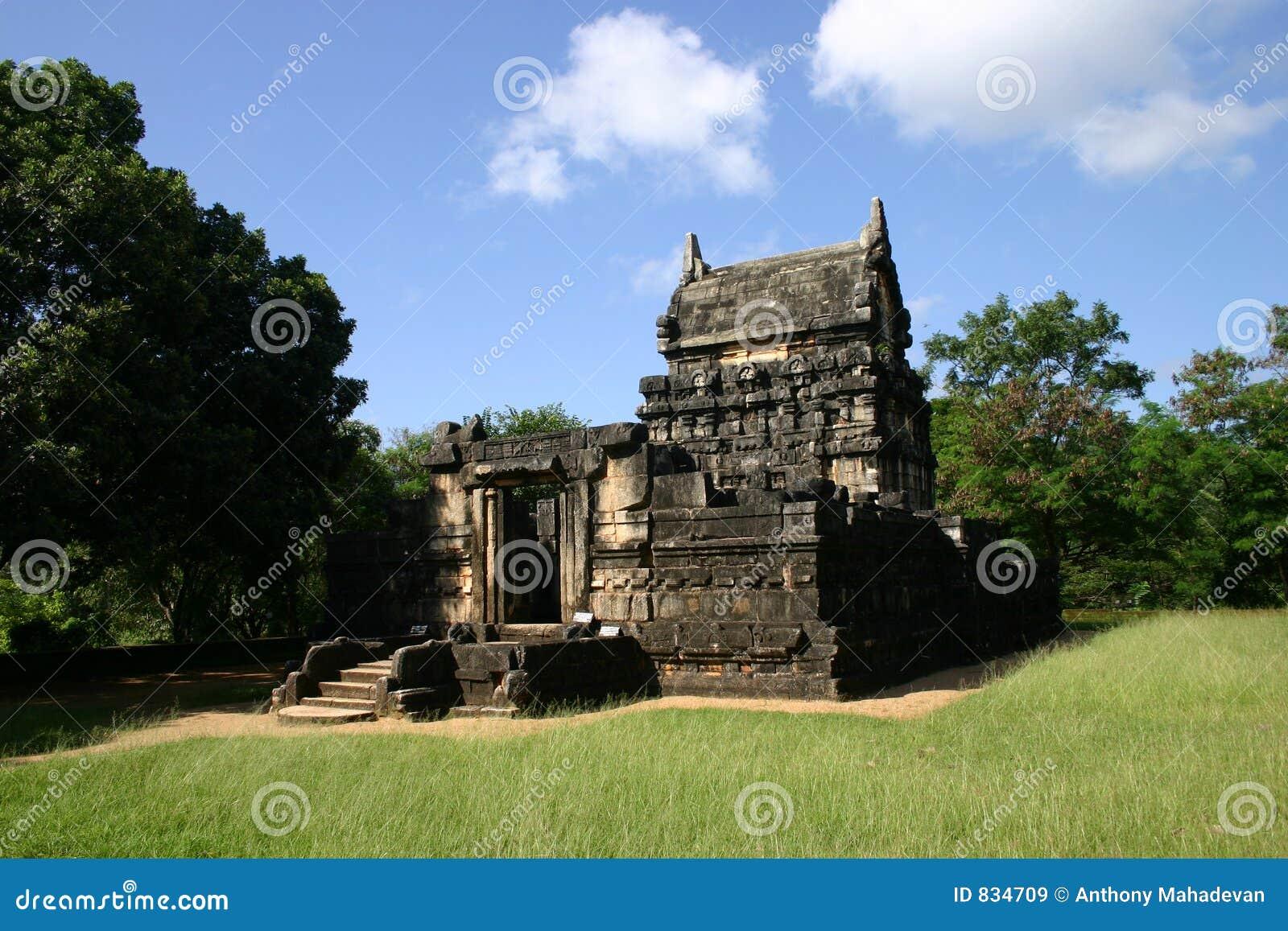 Nalanda Gedige in Sri Lanka.