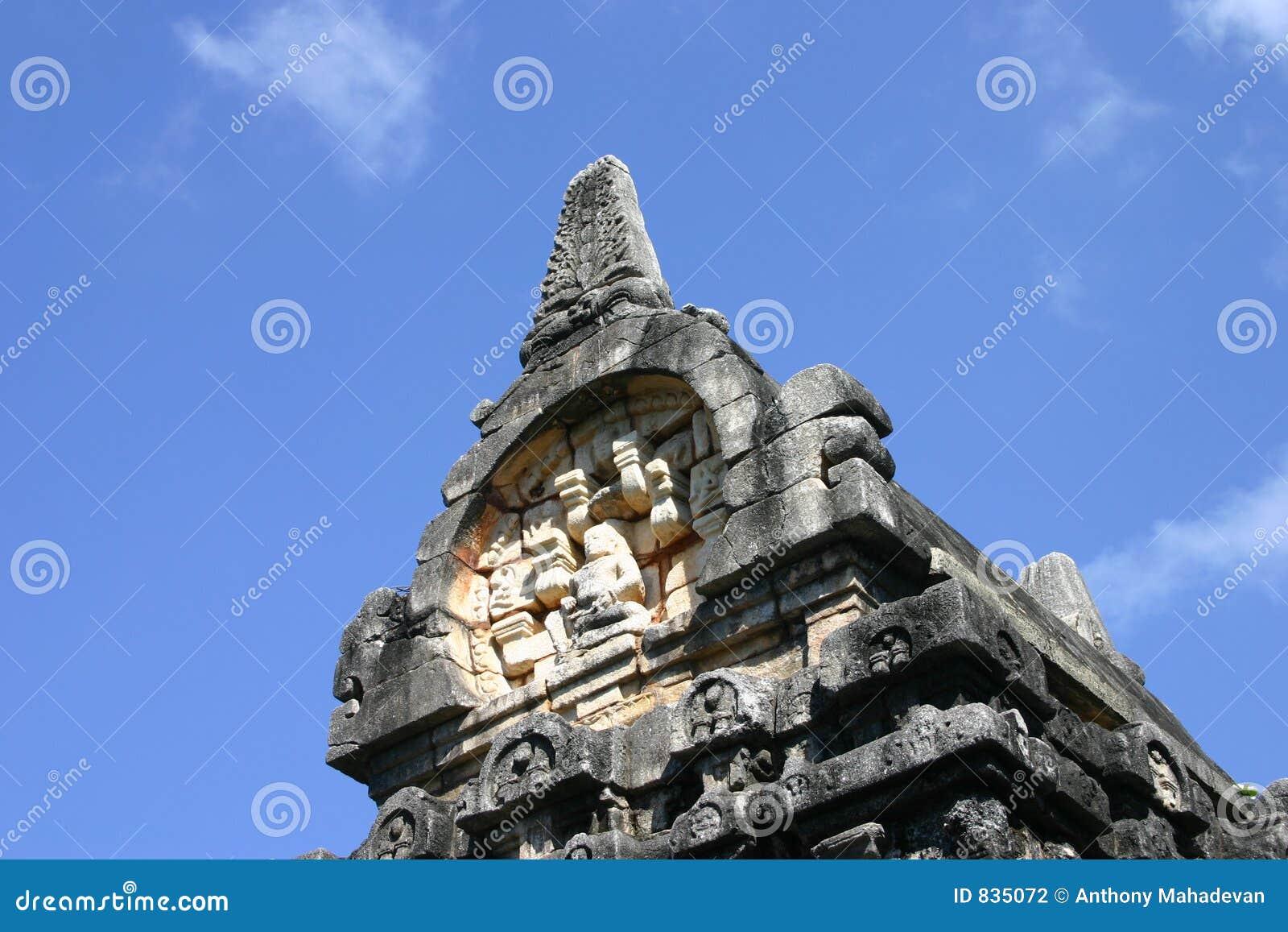 Nalanda Gedige in Sri Lanka