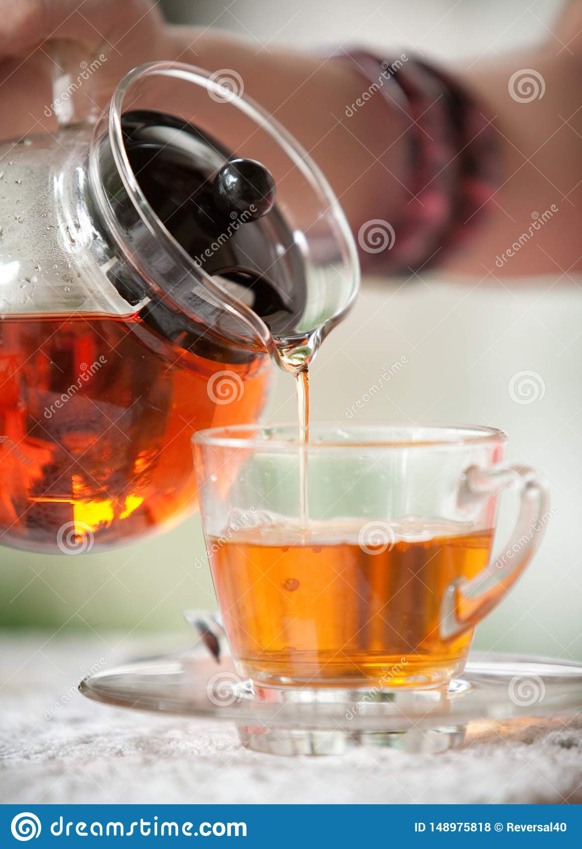 Nalej herbaty