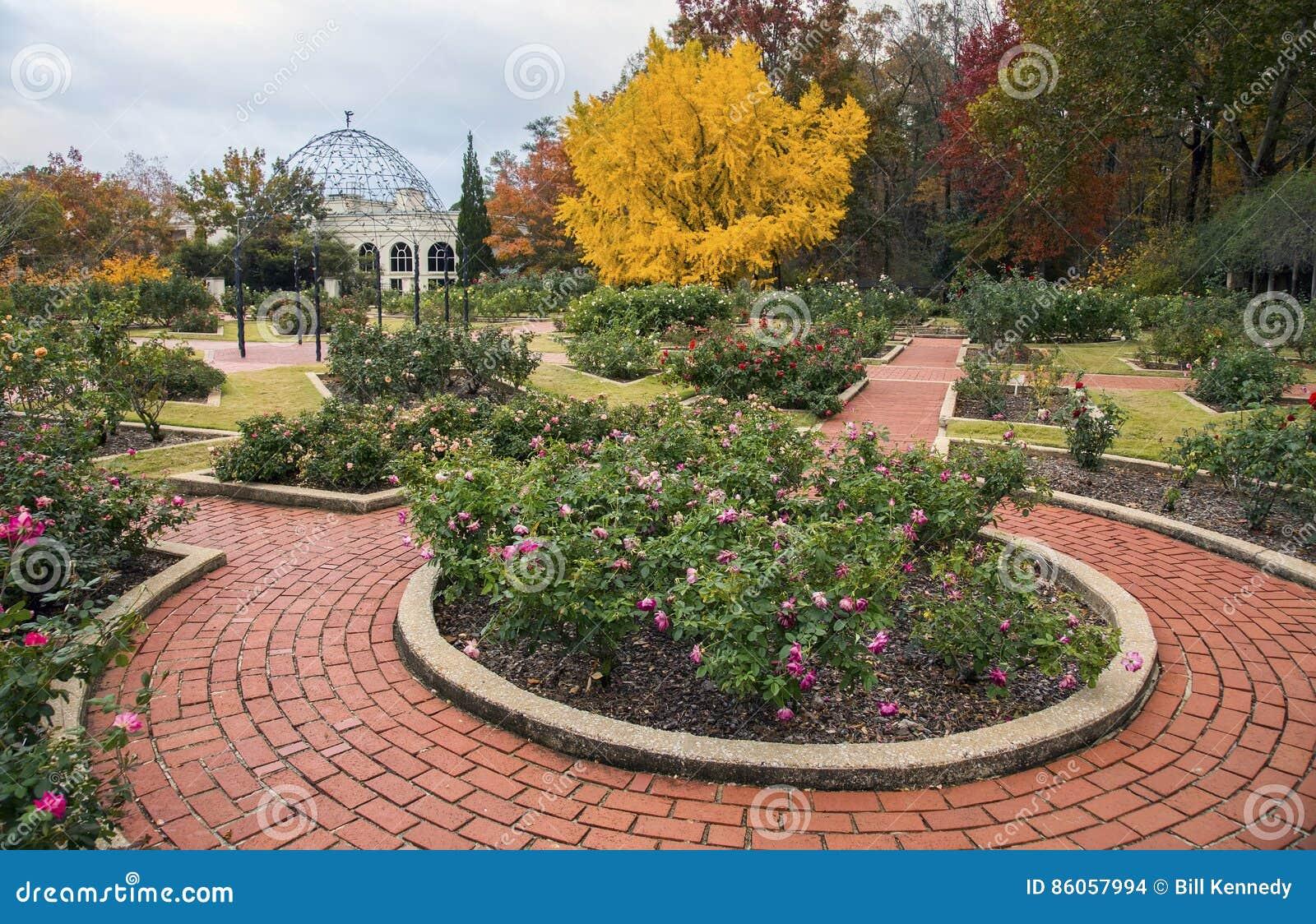 Nam tuin, de Botanische Tuinen van Birmingham toe