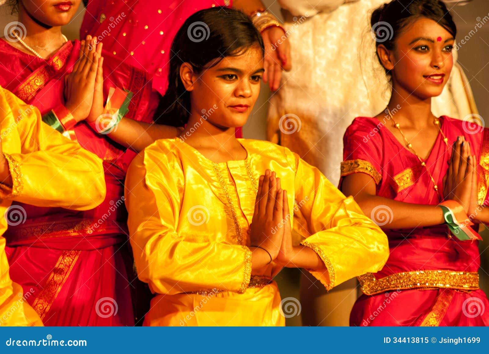 namaste india editorial image   image 34413815