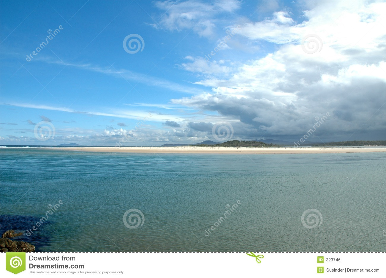 Nambucca australijczyka plaży