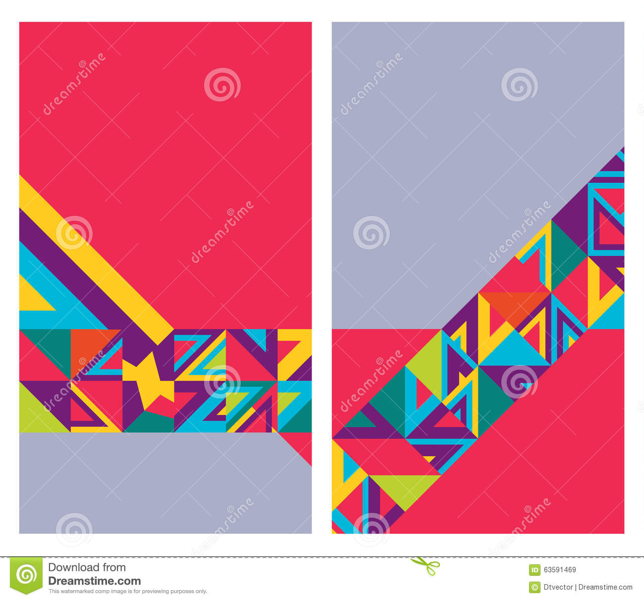 name card young vertical stock vector illustration of