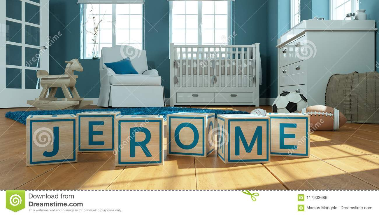 Cool The Name Jerome Written With Wooden Toy Cubes In Children S Gmtry Best Dining Table And Chair Ideas Images Gmtryco