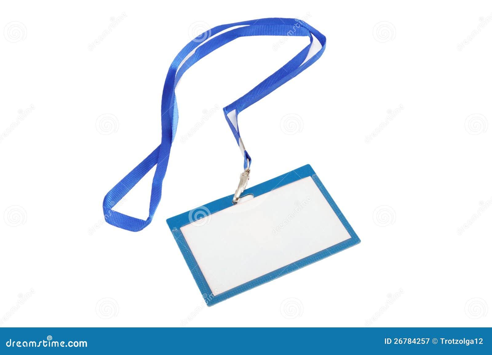 name tag blue lanyard white background stock images 61 photos