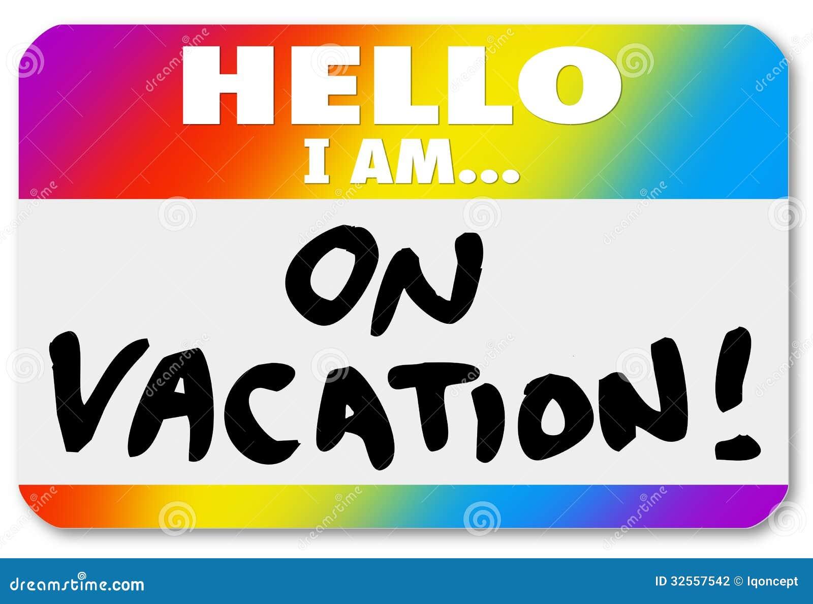 funny vacation clipart - photo #11