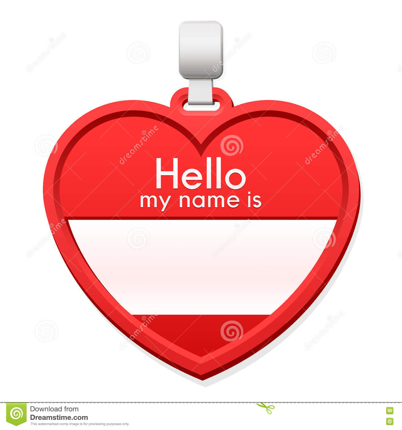 Cute Name Tag Template