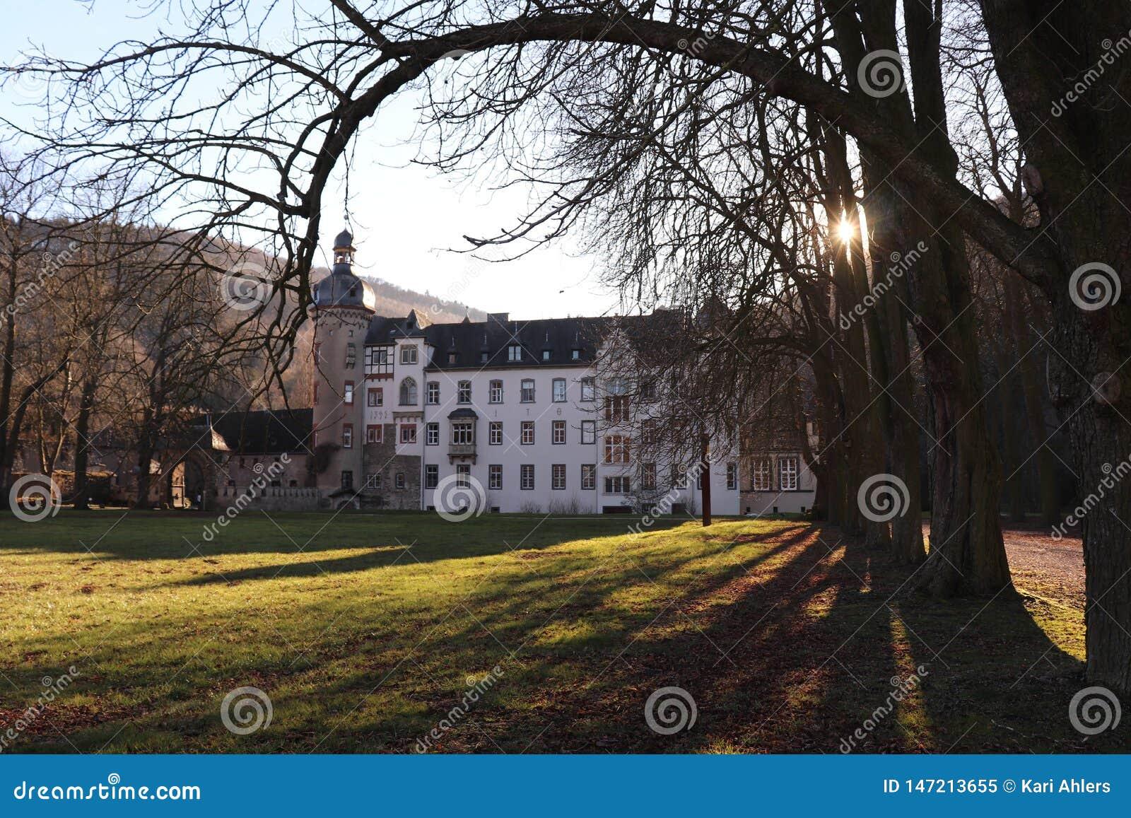 Namedykasteel in Andernach Duitsland