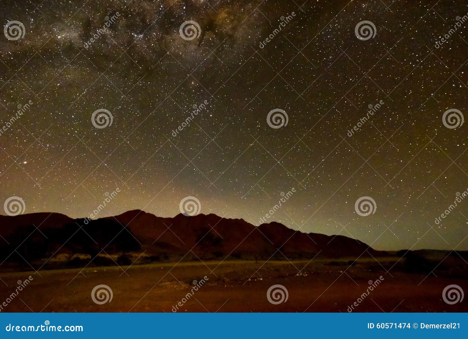 Download NamibRand Night Sky - Namibia Stock Photo - Image of namibrand, greenery: 60571474