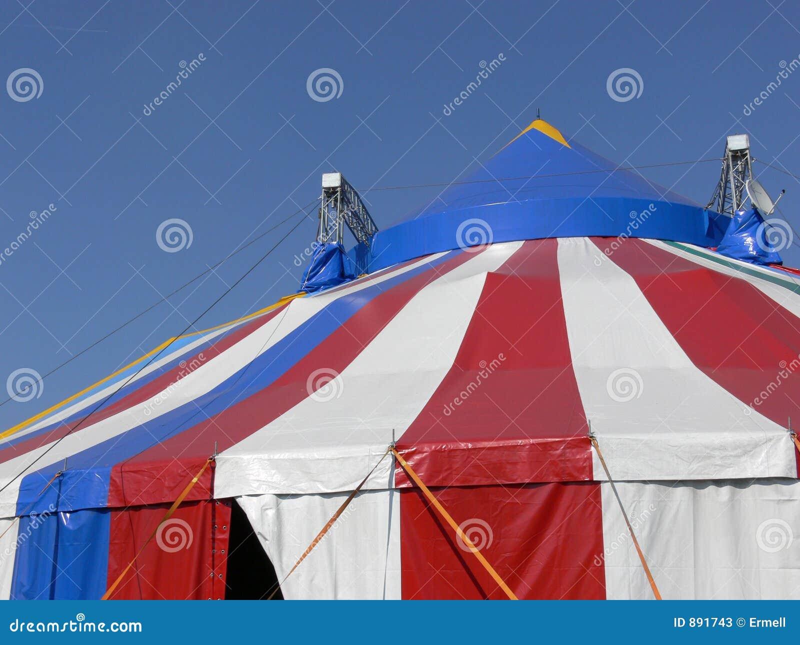 Namiot cyrkowy