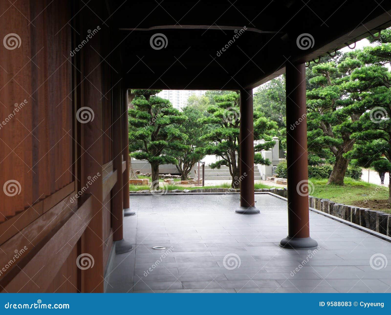 Nan Lian Garden Tang Dynasty Architecture Stock Photos