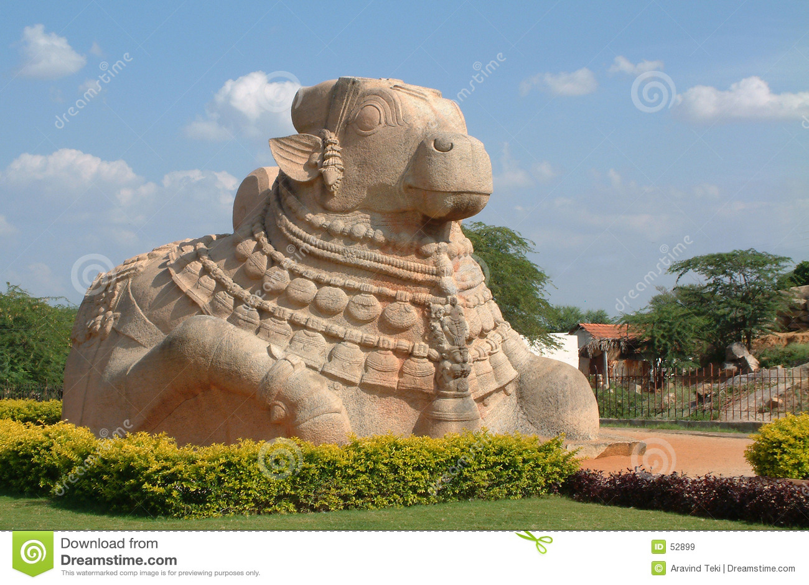Download Nandi ταύρων μωρών στοκ εικόνα. εικόνα από θεότητες, θρησκεία - 52899