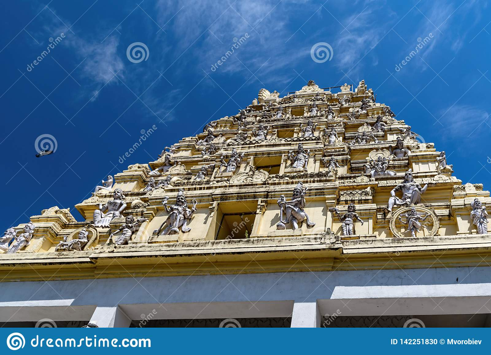 Nandi Temple, Dodda Basavana Gudi in Bangalore, Indien