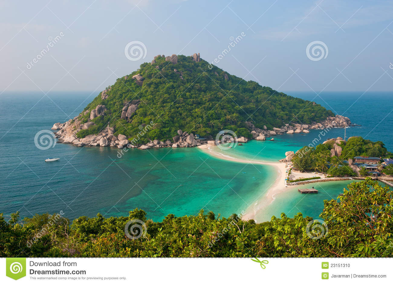 Nang Wyspa Juan, Koh Tao, Tajlandia