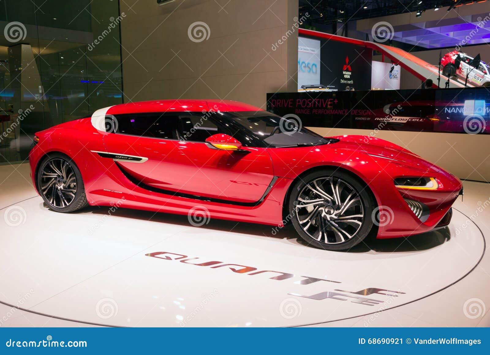 2016 nanoflowcell quant fe car editorial photo image 68690921. Black Bedroom Furniture Sets. Home Design Ideas