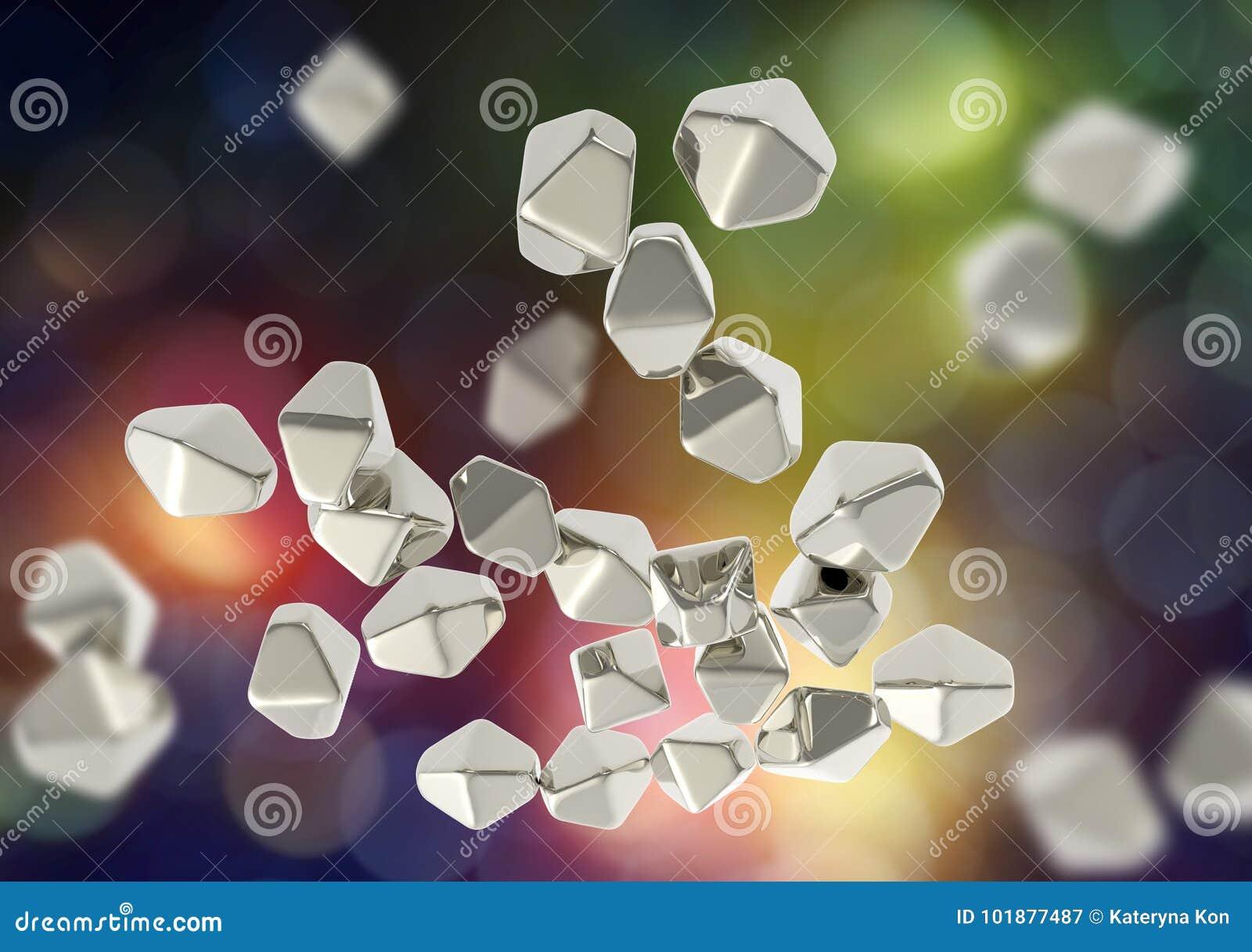 nanoparticles du dioxyde de titane tio2 illustration stock illustration du nanotechnology. Black Bedroom Furniture Sets. Home Design Ideas