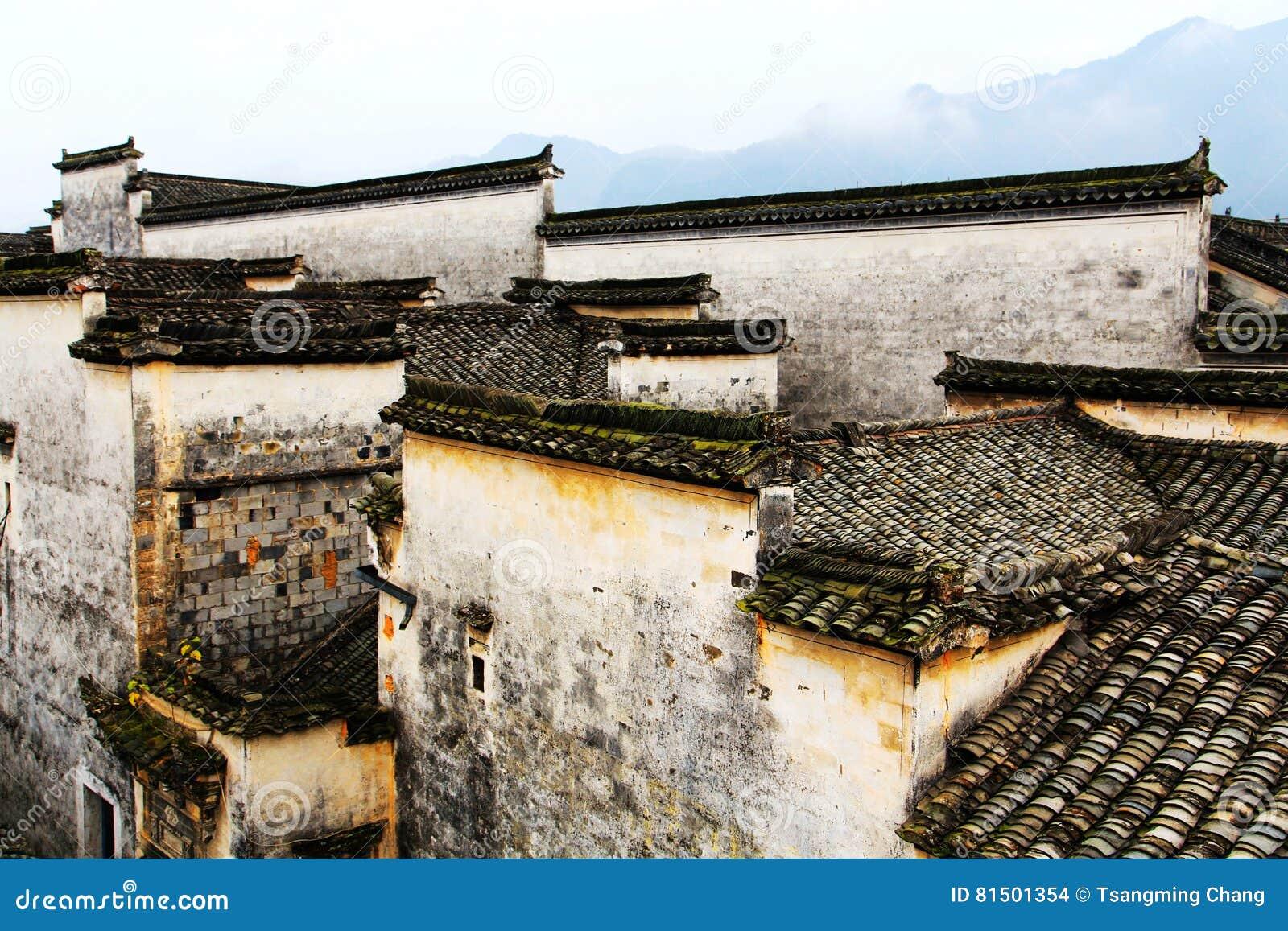 Nanping-Dorf, eine berühmte Huizhou-Art alte Architektur in China