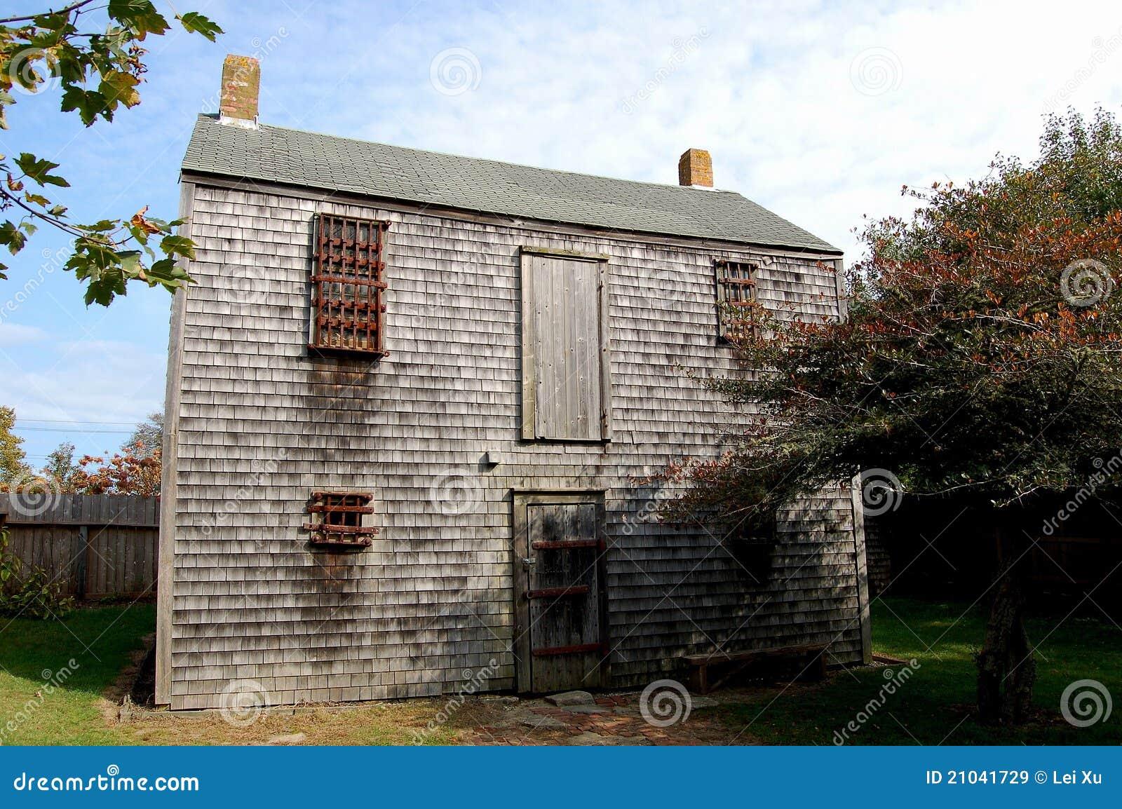 Nantucket, doctorandus in de letteren: de Gevangenis van de 19de Eeuw