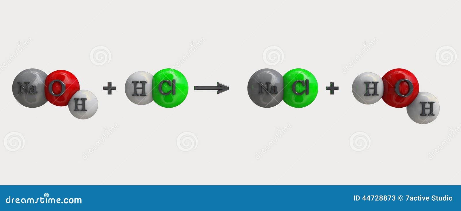 NAOH Formula Stock Illustration - Image: 44728873