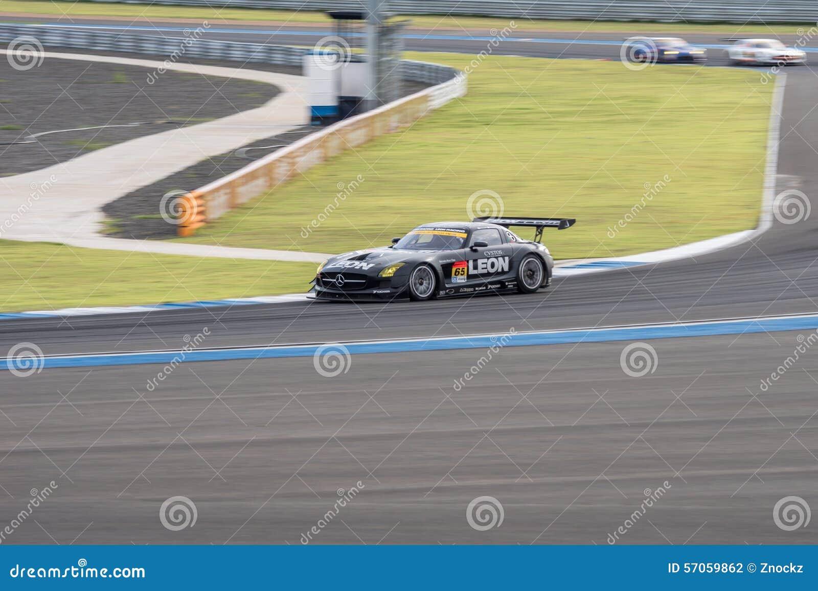 Naoya Gamou die van LEON in Super Definitieve Race 66 van GT Overlappingen RENNEN bij 201