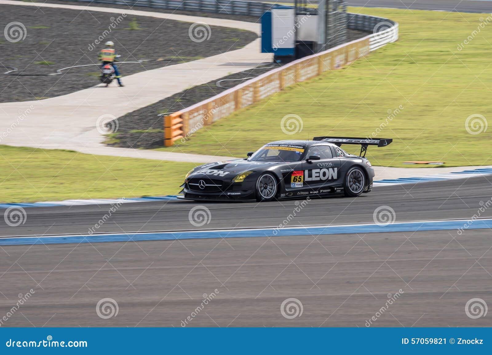 Naoya Gamoui die van LEON in Super Definitieve Race 66 van GT Overlappingen RENNEN bij 20