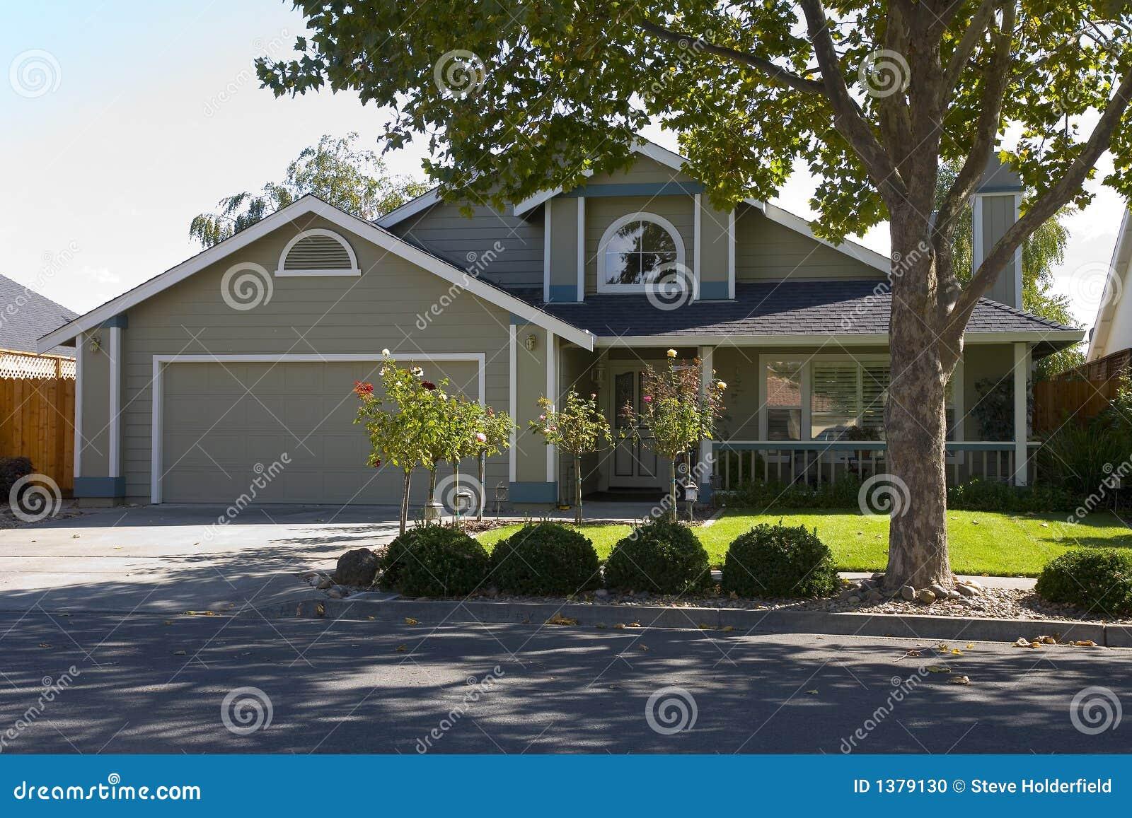Napa County Ca Custom Home Stock Photo Image 1379130